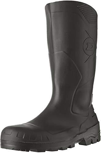 Dunlop S5 H142011 - Botas de seguridad con punta y entresuela de acero para hombre, color Negro, talla 44