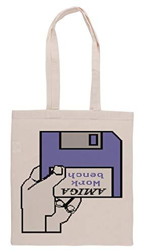 Luxogo Einfügen Werkbank Platte Einkaufstasche Groceries Beige Shopping Bag