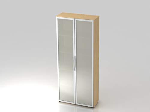 Schrank,Glastüre 4200 Ahorn