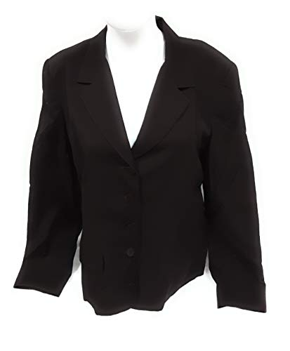 LIZ CLAIBORNE Women's Blazer/Jacket Size 12 Brown