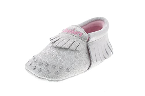 Skechers Baby - 89283 Lil Crawlers Curious One - Silver, Größe:17 EU