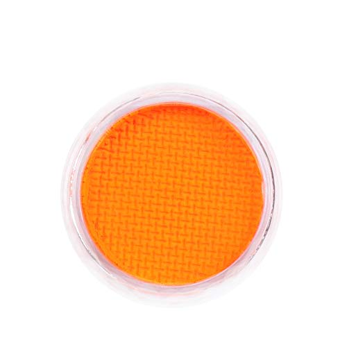 Mingbai Water Activated UV Reactive Neon Cake Eyeliner, 8 Rainbow Color Aqua Eye Liner UV Glow Blacklight Body Face Paint Makeup - Neon Bundle (Gold)