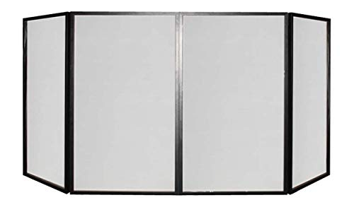 Faltbares Tischcover/DJ Screen/Bar & Pult Screen/Tischverkleidung 280 x 120cm 4 teilig