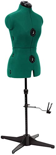 Opal Green Adjustable Dress Form for sewing