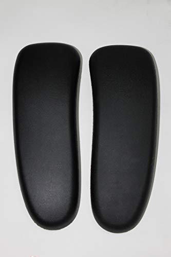 Arm Pads Pad Black Vinyl for Herman Miller Aeron Classic Pair