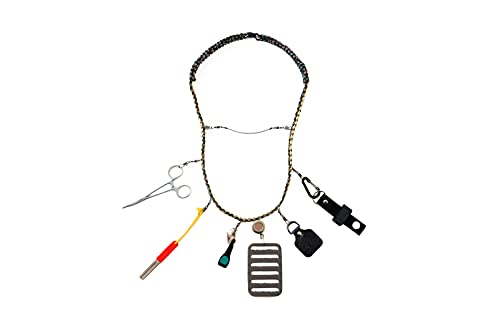 Goede Vangst Fly Fishing Lanyard with Accessories. High Strength...