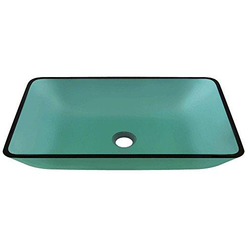 640 Emerald Coloured Glass Vessel Bathroom Sink