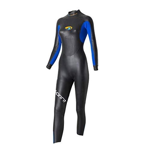 blueseventy 2021 Women's Sprint Triathlon Wetsuit - for Open Water Swimming - Ironman & USAT Approved (WM)