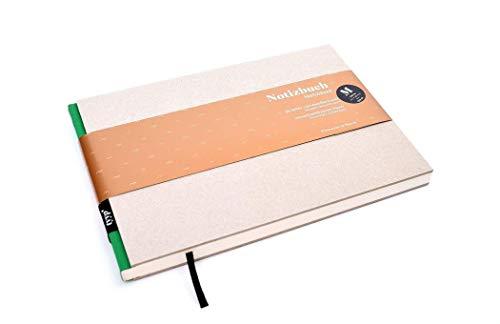 Cuaderno de diseño (DIN A5, formato apaisado), color verde