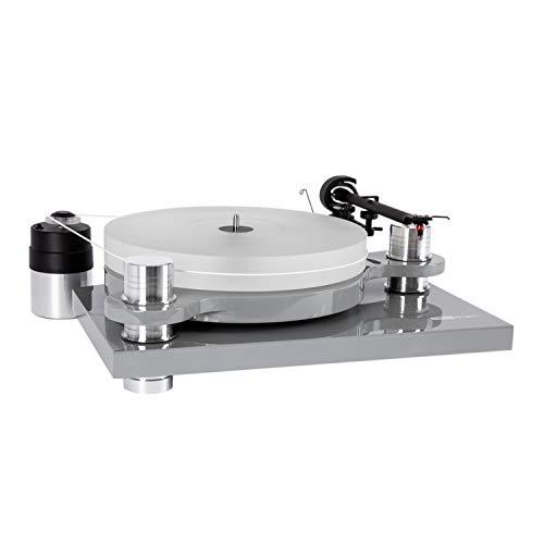 Block PS-100+ High-End Plattenspieler Klavierlack (Klavierlacksilber)
