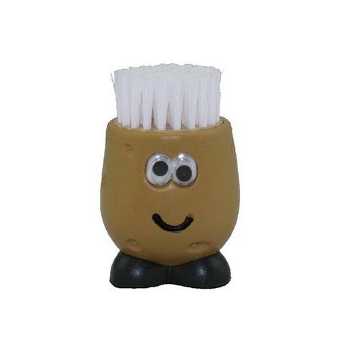 Joie Kartoffelbürste Mr. Potato rund, Kunststoff, braun, 5 x 5 x 7 cm