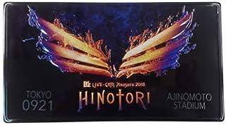 B'z LIVE-GYM Plesure2018 -HINOTORI- HINOTORI メモリアルプレート (2018.09.09豊田スタジアム)