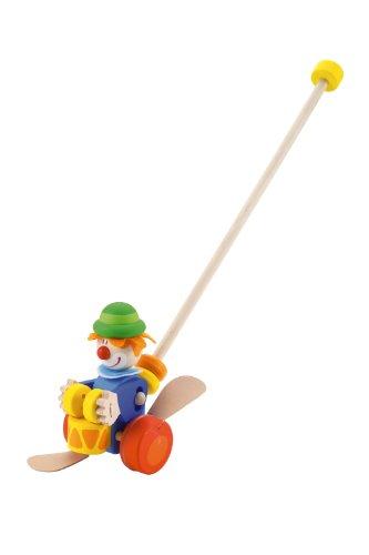 Trudi 82190 - Schiebe oder Clown -Schiebe- und Nachziehtiere