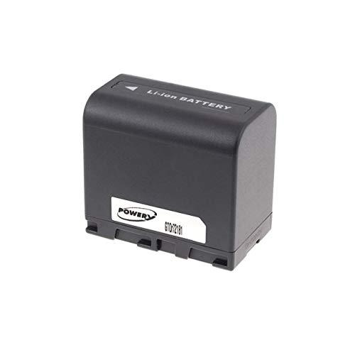 akku-net fromm Powery Ersatzakku passend für Video JVC GR-D725E, 7,2V, Li-Ion