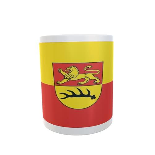 U24 Tasse Kaffeebecher Mug Cup Flagge Bodelshausen