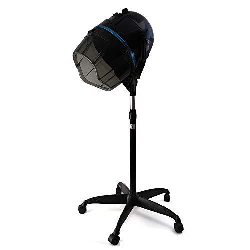 RANZIX Secador de pelo profesional con soporte para secador de pelo, campana con pie trípode para peluquería, 950 W