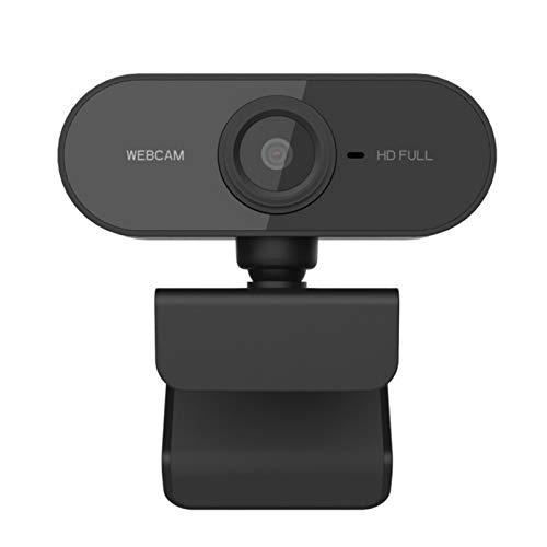 MLX Webcam 1080p HD Web Cámara USB Microfone Webcam Video Giratorio Gamer Camara para Computadora Portátil PC Desktop Computer LQWT (Color : Pc01 Camera)