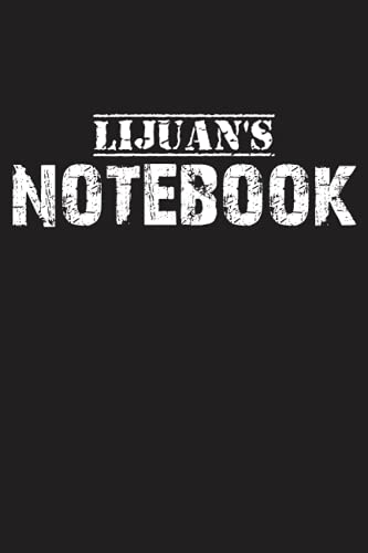 Lijuan's Notebook: Lined Notebook / Journal Gift, 120 Pages, 6'x9', Soft Cover, Matte Finish