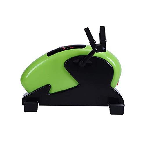BXU-BG Inicio caminadora formación de adultos bicicleta bicicletas equipos de gimnasia Hombre, mujer de la aptitud paso a paso el equipamiento del hogar deportes (Color: verde, Tamaño: 44cm * 42cm * 2