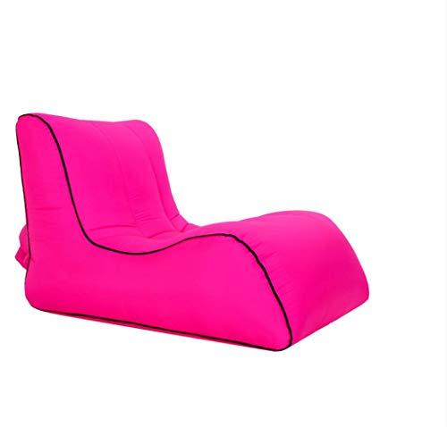 AHJSN Sofá Cama Plegable Individual Inflable Sofá de colchón de Aire multifunción portátil Adecuado para Viajes al Aire Libre6