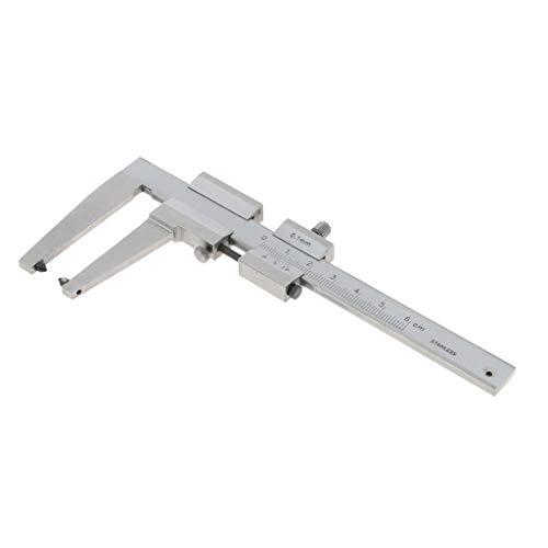 Edelstahl Bremsscheiben Schieblehre Messschieber Noniusschieber Messwerkzeug, 0-60mm Messbereich