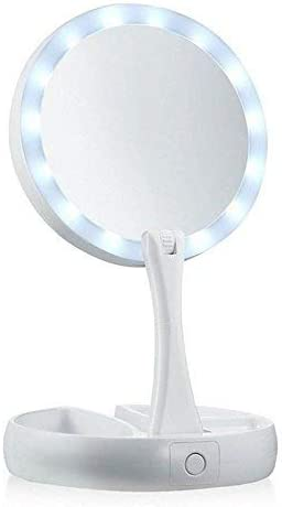 Toxen Make Up Mirror Light All stores are sold Magnifying Port Double Function Seasonal Wrap Introduction Side