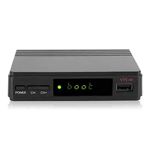 FOLOSAFENAR TV Box Adopta Mano de Obra de Alta especificación Reproductor Multimedia Fácil de Instalar Actualización de Software de Soporte A través de USB, el Sistema de menús es fácil de Usar