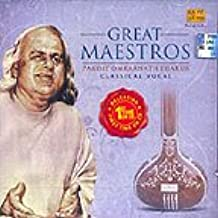 Great Maestros - Pandit Omkarnath Thakur (Music CD)