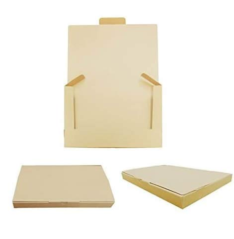 ゆうパケット厚さ3cm対応 クラフトケース 340x230x30 無地紙茶 100枚セット