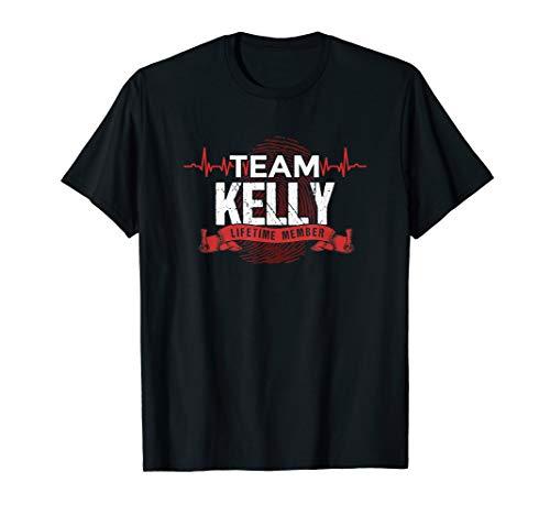 KELLY TEAM Family Reunions DNA Herzschlag T-Shirt T-Shirt