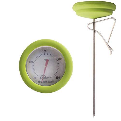 Termómetro para alimentos, barbacoa, ahumador, parrilla, termómetro, medidor de temperatura, sonda de acero inoxidable, medición de temperatura de alta precisión, horno, barbacoa, horneado doméstico