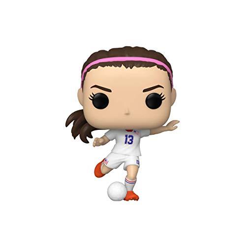 Funko 49135 Pop Sports: Selección Nacional de Estados Unidos-Alex Morgan Juguete Coleccionable, Multicolor