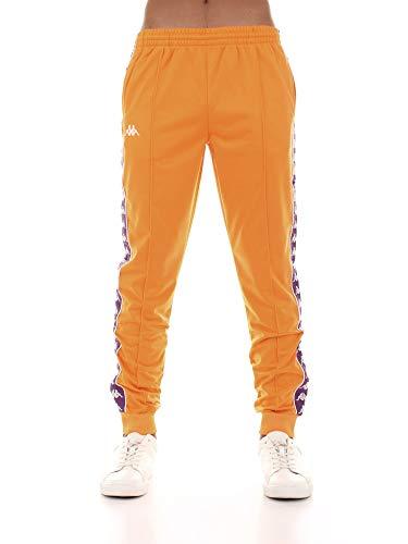 Kappa Pantalón de chándal para Hombre Tejido Naranja 303KUC0-A49