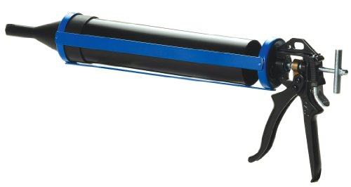 COX 41006 Tuck Point 1-Quart Capacity Tube Rotating Cradle Manual Caulk Gun,Blue / Black