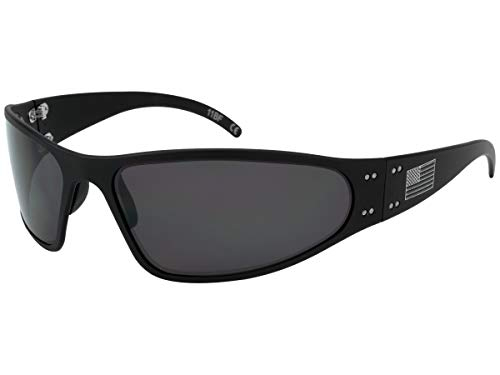 Gatorz AM-WRABLK01P Patriot - Wraptor Sunglass Patriot - Wraptor, Black -...