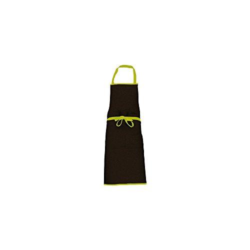 Tablier Cook'in Garden noir et Vert
