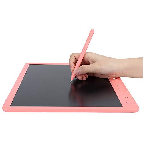 【𝐂𝒚𝐛𝐞𝐫 𝐌𝐨𝐧𝐝𝐚𝒚】Tablero de escritura LCD para niños, tabletas, gráficos, tablillas de escritura, LCD, para calcular borradores, regalos, pintura (rosa)