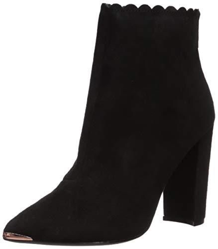 Ted Baker Women's Ofelia Fashion Boot, Black Suede, 4.5 Medium US
