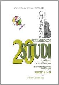 20 studi. Metodo per chitarra. Con CD-Audio. N. 1-10 (Vol. 1)
