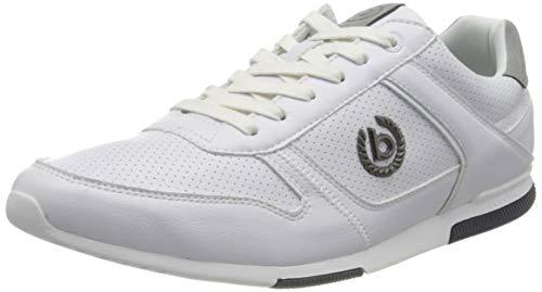 bugatti Herren 321732015900 Sneaker, Weiß, 42 EU