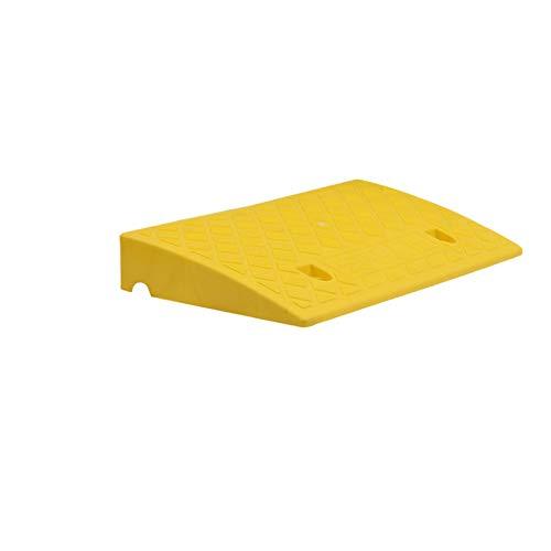 XUZgag Frenar Rampas, sillas de Ruedas eléctricas Rampas en monopatín rampas portátiles Scooter rampas de Salida - Estable rampas de plástico Almohadilla Cuesta Arriba Seguro