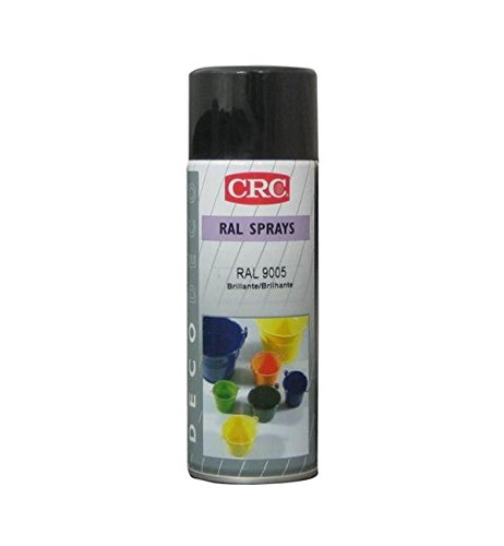 CRC 32407-AA Spray Pintura, Negro Satinado, 400 ml
