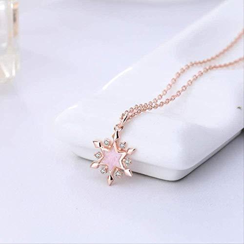 PPQKKYD Collar Collar Colgante Estrellas Estrellas Pegamento pequeño Fresco Moderno Popular