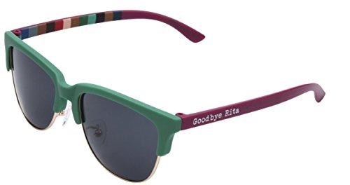 Goodbye, Rita. -Gafas de sol Polarizadas verdes y granates - Modelo Green&Garnet