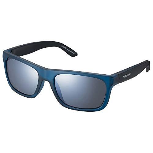 SHIMANO Gafas Mirror Y21, Adultos Unisex, Turquoise w/Smoke Silver (Multicolor), Talla Única