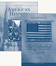 Distance Learning Study Guide for The Unfinished Nation (from 1865) (V2) 4th edition by INTELECOM (2004) Paperback