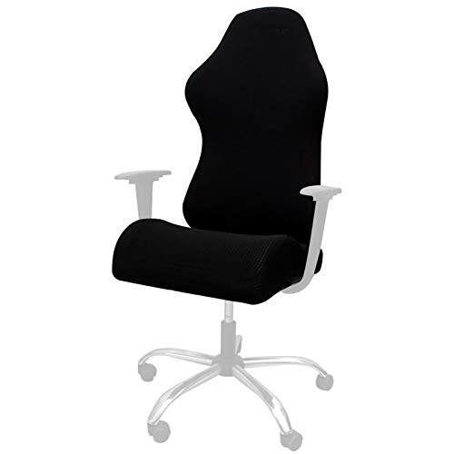 beiyoule Stretch Anti Dirty Office Computer Game Chair Cover, Armchair Gaming Chair Stretch Protector Slipcover,Stretchable Gaming Chair Covers Slipcovers