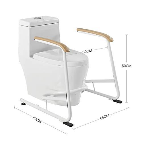 SYTH Toilettengestell,Sicherheitsgestelle für Toiletten WC-Aufstehhilfe Toilettenstützgestell Mobile Sicherheitsgestelle