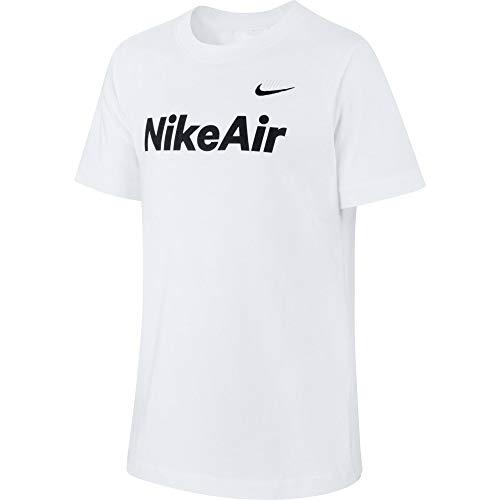 Nike Kinder Air Max 2 T-Shirt, White/Black, M