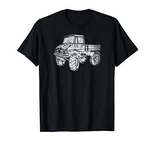 Unimog U500 Pickup Off Road Truck Tough Mudding Vehicle